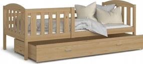 GL Kuba P detská posteľ 190x80 borovica