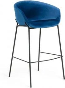 ZADINE ZAMAT barová stolička Modrá