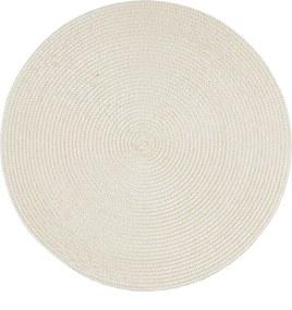 Jahu Prestieranie Deco okrúhle krémová, pr. 35 cm, sada 4 ks