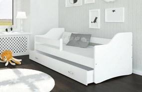 Sweety biela Color - detská posteľ 180x80