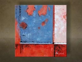 Ručne maľovaný obraz ABSTRAKT 1 dielny NU0006E1
