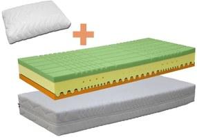 DreamLux DUO COMFORT -  matrac so 7-zónovou konštrukciou + vankúš MAZZEL 85 x 195 cm