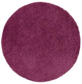 Fialový koberec Universal Aqua, Ø 100 cm