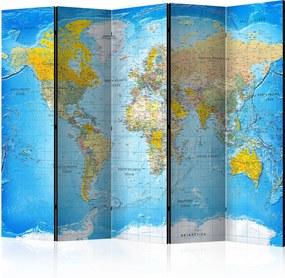 Paraván - World Classic Map  [Room Dividers] 225x172 7-10 dní