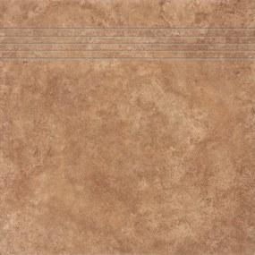 Schodovka Rako Pietra di Mare hnedá 33x33 cm mat DCP3B418.1