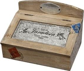 Drevená krabička na kľúče