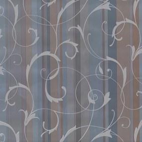 Samolepiace fólie ornamenty s pruhmi modré, metráž, šírka 90cm, návin 15m, GEKKOFIX 11926, samolepiace tapety