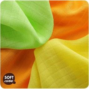KIKKO Bambusové obrúsky Colours 30x30 (9 ks) – lime 2de20910b0c