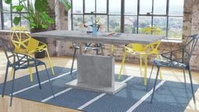 GRAND NOIR betón, rozkladacia, zdvíhací konferenčný stôl, stolík