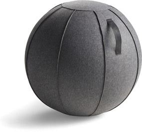 Balančná pilates lopta Corbridge, Ø 750 mm, tmavošedá