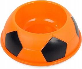 Verk 19105 Plastová miska pre psa 400 ml oranžová