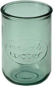 Zelený pohár z recyklovaného skla Esschert Design Water, 0,4 l