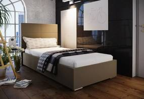 Jednolôžková čalúnená posteľ NASTY 4 + rošt + matrac, 90x200, Sofie 7