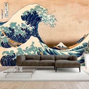 Fototapeta - Hokusai: The Great Wave off Kanagawa (Reproduction) 200x140 + zadarmo lepidlo