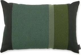 Normann Copenhagen Vankúš Line Cushion, green 60x40