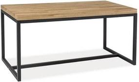 Expedo Konferenčný stolík RASOL B, 110x54x60, dub/čierna