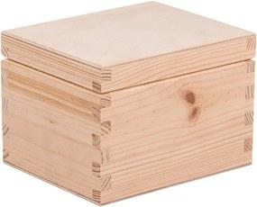 ČistéDrevo Drevená krabička IV
