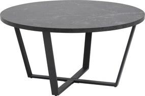 Dizajnový konferenčný stolík Agung, čierna