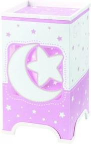 Dalber 63230S Detské Svietidlá MOON LIGHT ružové plast 50lm 3000K