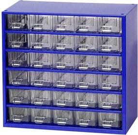MARS Kovové závesné skrinky so zásuvkami, 30 zásuviek