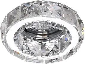 Bodové svietidlo AZZARDO ESTER 1 chrome DM1000-1-CH