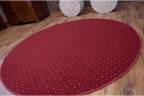 Koberec kruh AKTUA 116 bordový - 100 cm kruh