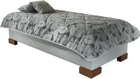 NEW DESIGN QUATRO bez čela 80x200 cm s matracom BAZI ND3 (Prístup zboku)
