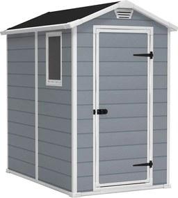 KETER MANOR 4x6 (230447) - plastový záhradný domček (+ predĺžená 5-ročná záruka)