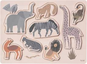 Ferm Living Detské Puzzle Safari
