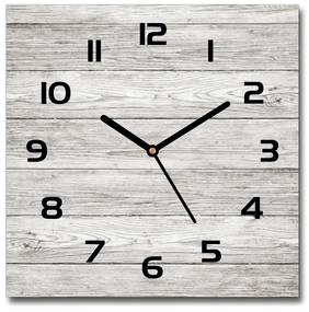 Sklenené hodiny štvorec Drevené pozadie pl_zsk_30x30_f_112523223