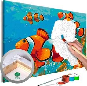 Murando DeLuxe Zlaté rybky(60x40 cm)