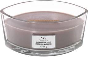 WoodWick Vonná sviečka WoodWick - Black Amber and Citrus 454 g