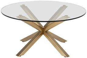 Heaven konferenčný stolík zlatý