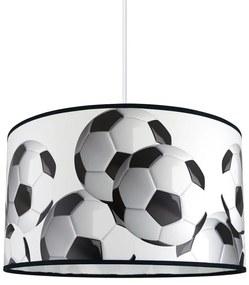 Lampdar Detský luster na lanku FOOTBALL 1xE27/60W/230V SA1086