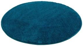 Gözze Koberec do kúpeľne Rio, Ø 110 cm (petrolejová), modrá (100247921)