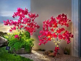 Solárny záhradny zápich Kvetinový sen, 2 ks