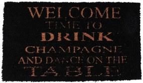 La finesse Rohožka Drink champagne 40x70 cm