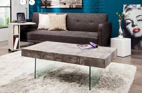 Dizajnový konferenčný stolík Rior / betonová