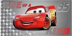 Faro · Detská plážová osuška / uterák Autá 3 - Cars 3 - Blesk McQueen - 100% bavlna - 70 x 140 cm