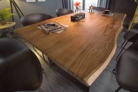 Dizajnový jedálenský stôl Massive 160 cm divá akácia