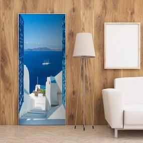 Fototapeta na dvere Bimago - Holidays in Greece + lepidlo zadarmo 70x210 cm