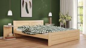 Naďa 160x200 manželská posteľ Natural