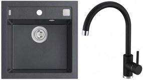 ALVEUS Set FORMIC 20 drez 520x510 mm + batéria TONIA, čierna