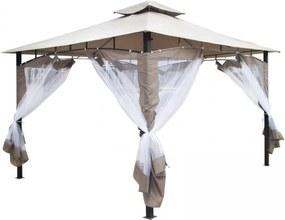 Záhradný párty stan - altánok Monte - 3,65 x 3 m
