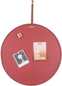 PRESENT TIME Sada 2 ks: Magnetická nástenka Perky hnedá