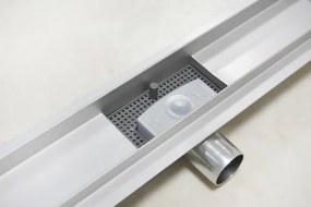 EURO Sprchový podlahový žľab 60 cm - POD DLAŽBU M6004