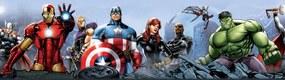 AG Design Samolepiaca bordúra Avengers papier 14 cm x 5 m