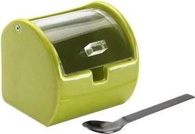 Zelená keramická dóza na cukor Versa