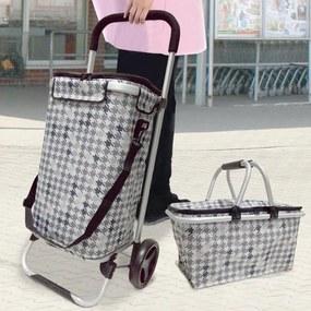 Nákupný set Catini KAUFMANN - nákupný vozík + nákupný košík