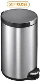 SAPHO - ARTISTIC odpadkový koš 30l, Soft Close, broušená nerez (DR130
